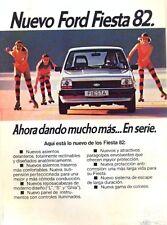 Ford Fiesta Mk 1 Spanish market original sales brochure/leaflet 1982