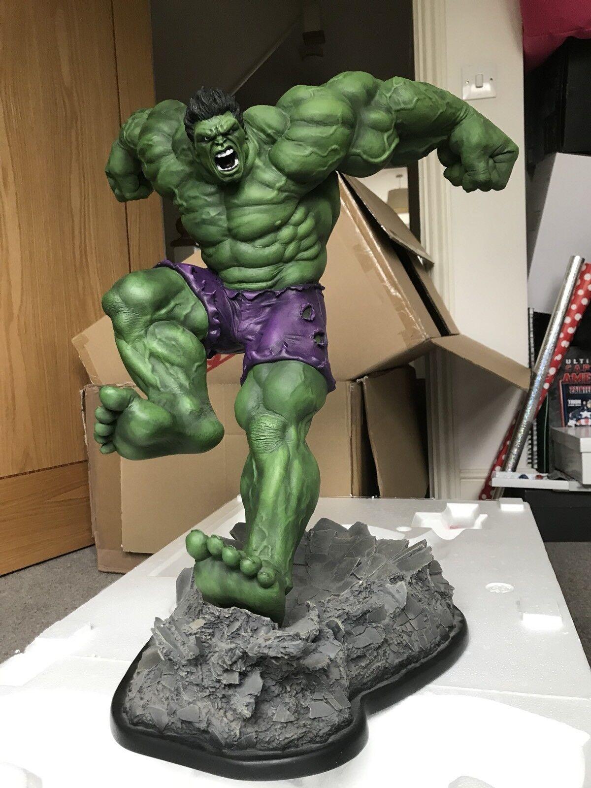 Sideshow Hulk Comiquette Statue Grün Custom 1/5 Scale No.1173/1750 Authentic