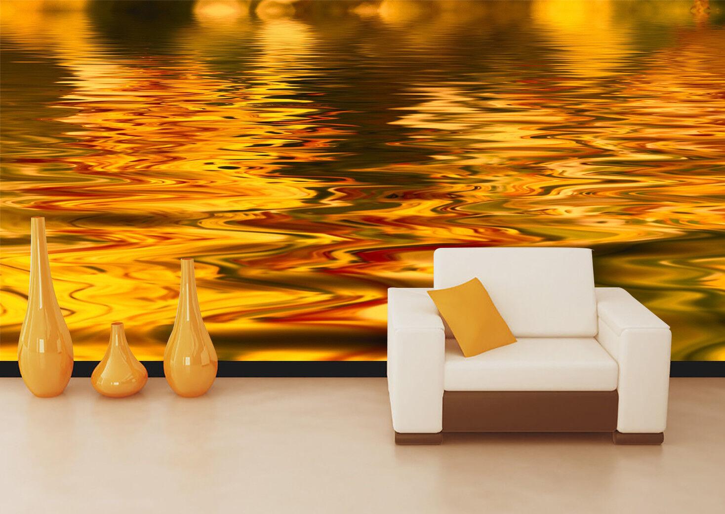 3D 3D 3D Goldener See 798 Tapete Wandgemälde Tapeten Bild Familie DE Lemon | eine breite Palette von Produkten  1f72eb