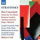 Duo Concertant/Sonate f.2 Klaviere/+ von Robert Craft (2011)
