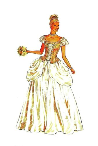 #501 PRINCESS GOWN  DOLL PATTERN YOU PICK YOUR SIZE