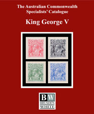 *NEW* ACSC KGV KING GEORGE V 2018 AUSTRALIAN COMMONWEALTH SPECIALISTS' CATALOGUE
