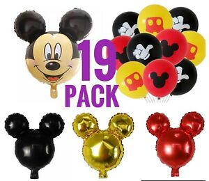 Mickey Mouse Balloons Birthday party pack FREE SHIPPING!!!