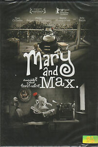 Mary And Max Animation Brand New Dvd 8858876711689 Ebay