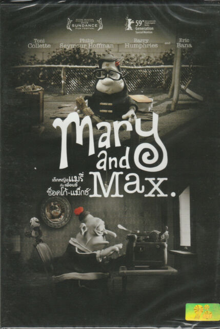 Mary And Max Dvd R0 Barry Humphries Philip Seymour Hoffman Animation Comedy For Sale Online Ebay