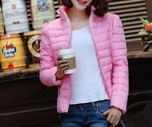 rose en à chaude 1168 Veste duvet confortable douce la courte et mode femme qv7w50Iwr