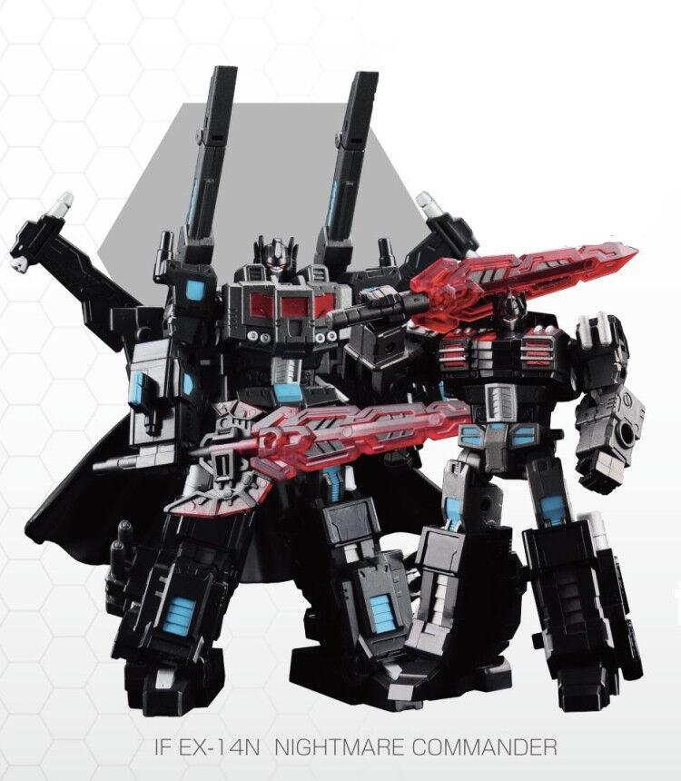Iron Factory IF EX-14N Nightmare Commander Scourge Dark Optimus Prime Robot
