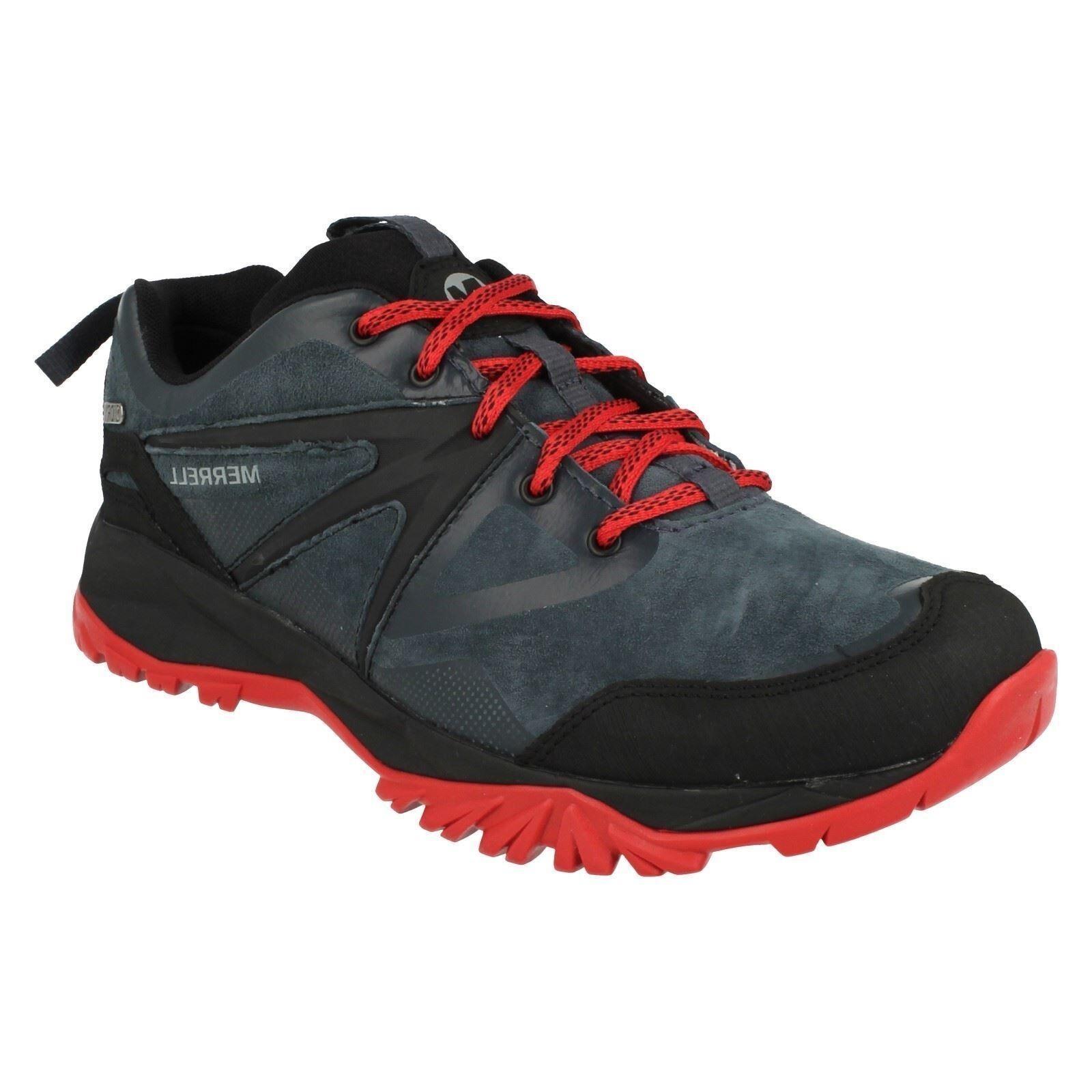 Merrell para hombre Capra Bolt Caminar Cuero Con Cordones Para Caminar Bolt Impermeable 12ee89