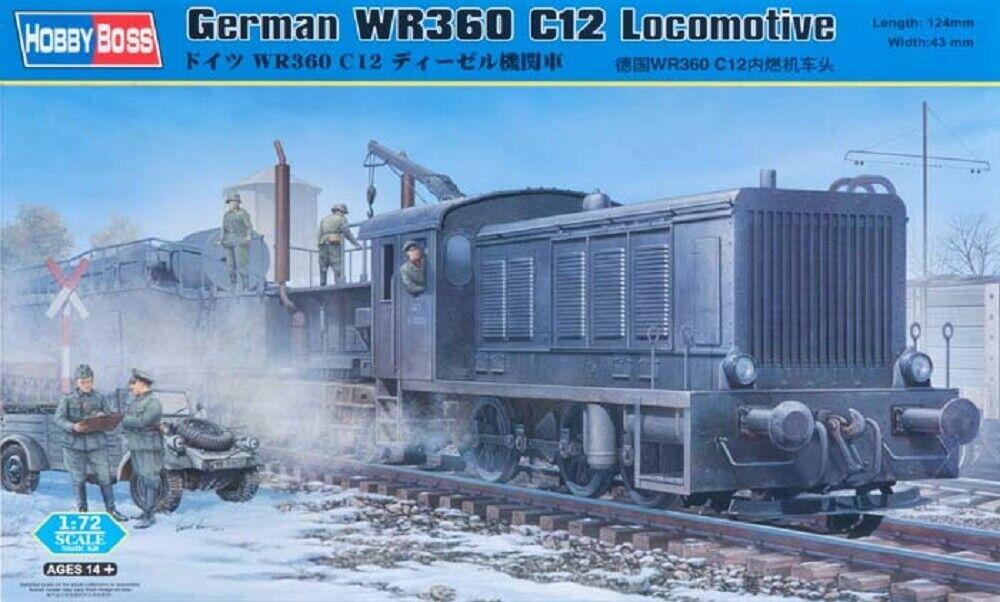 Hobby Boss 1 72 (20mm) German WR360 C12 Locomotive
