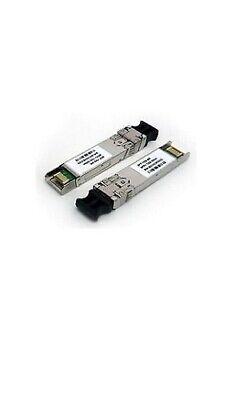 LOT OF 5,Cisco FET-10G 10-2566-02 FTLX8570D3BCL-C2 10Gbps SFP Transceiver