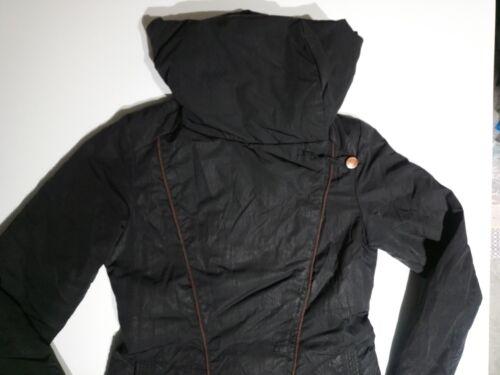 44 Taglia Jeans Donna Giubbotto Cappotto Trench M Ita Nero Trussardi xSIZ0qf0
