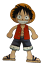 LARGE MONKEY D LUFFY ONE PIECE HEAT TRANSER IRON ON SMOOTH LOGO PATCH CLOTHES
