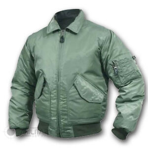 4c1ad8a00 Details about US MILITARY STYLE MA-2 FLIGHT BOMBER JACKET OLIVE GREEN PUNK  SKINHEAD MOD