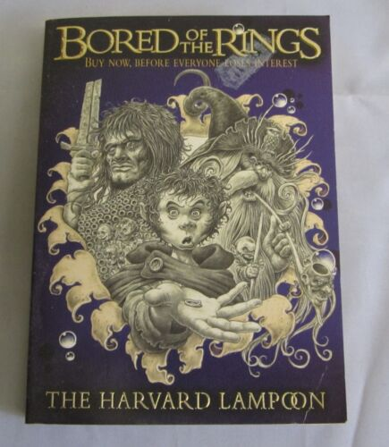 1 of 1 - Bored of the Rings by The Harvard Lampoon (pbk)