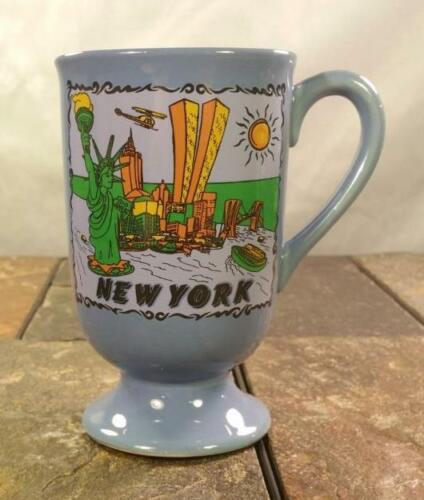 New York City NYC Twin Towers World Trade Center Statue Of Liberty - Coffee Mug