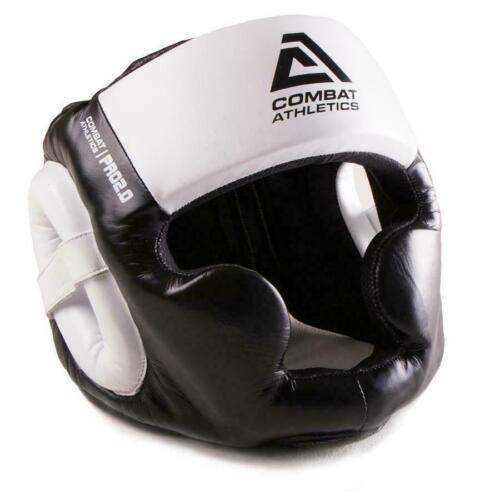Combat Athletics Pro Series V2 Head Guard Kickboxing Boxing MMA Adults Leather