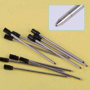 10X-Kugelschreibermine-Kugelschreiber-7CM-Schwarz-Ersatzminen-Fuer-14cm-Stift-NEU