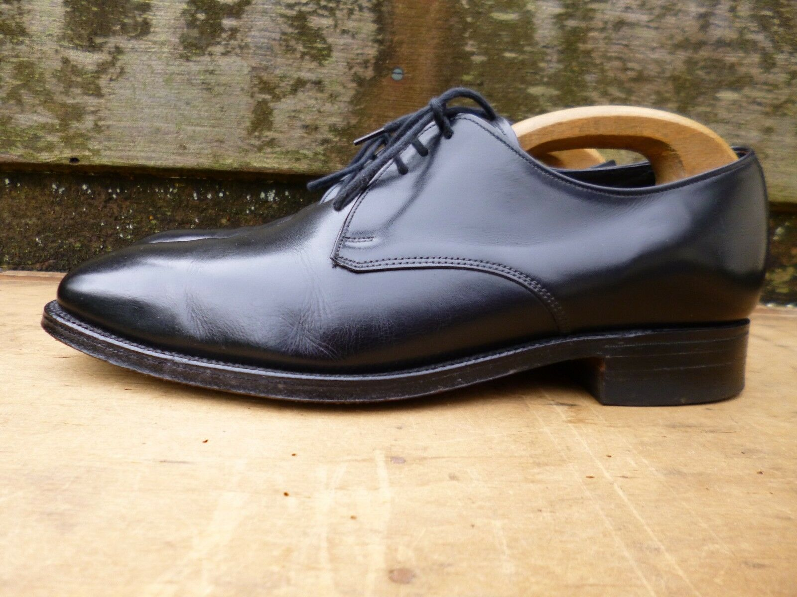 CHEANEY / – CHURCH DERBY – BLACK – / UK 8.5 – RYE - EXCELLENT CONDITION 18e1d0