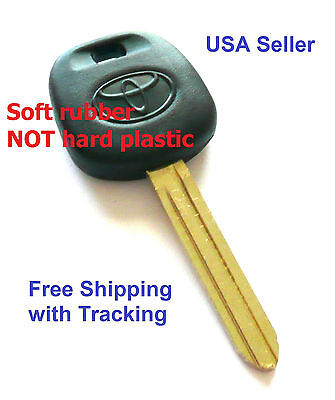 New Toyota Transponder Key Blank Ignition Chipped C Free Shipping with Tracking