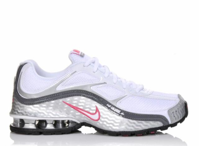 NWT Women's Nike Reax Run 5 Training Shoes WntPnkSilv Torch Sequent