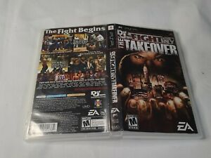 Def Jam FIGHT FOR NY The Takeover PSP Case/Box ONLY NO GAME