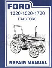 1987 2000 Ford Tractor 1320 1520 1720 Shop Manual Repair Service Book