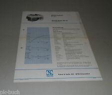 Typenblatt / Technische Daten Sachs-Stamo SB 93 Rasenmähermotor Stand 1972