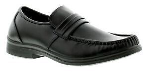 Business-class-Spencer-Scarpe-Formali-da-Uomo-Nero