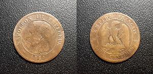 Napoleon-III-2-centimes-tete-nue-1854-W-Lille-F-107-18