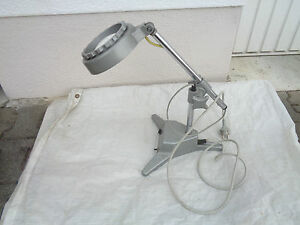 gro e lupe mit licht standlupe kamerafabrik freital ebay. Black Bedroom Furniture Sets. Home Design Ideas