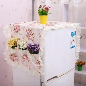Refrigerator-Creative-Dust-Proof-Cover-Lattice-Storage-Pouch-Organize-Bag-OF