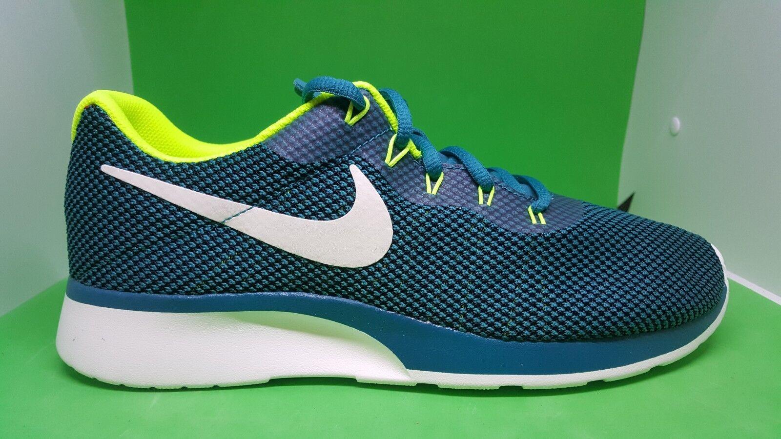 56ecf5fe0e Nike Tanjun Racer bluestery Volt White Men shoes Sneakers 921669-400 Sail  Running ntjvgg2803-Athletic Shoes
