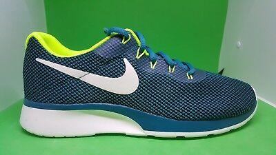 Todos los años Lada Lujoso  Nike Tanjun Racer Blustery Sail Volt White Men Running Shoes Sneakers  921669-400 | eBay
