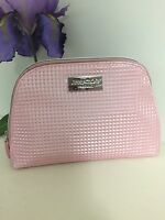 Jimmy Choo Parfums Pink Faux Leather Makeup Pouch Bag Case Clutch .new