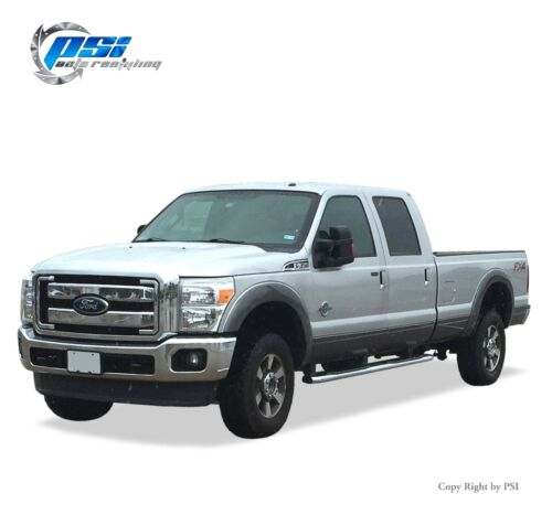 Black Paintable OE Style Fender Flares 11-16 Ford F-250 F-350 Super Duty