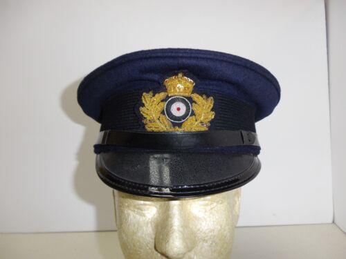 e2018-58 WW 1 German Navy Blue Top Officer Visor hat size 58 Janke made W6A