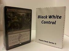 MTG Standard & Theme Decks - Black White Control Magic the Gathering