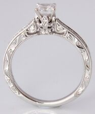 Neil Lane 14ct White Gold Diamond Ring. 0.66ct. Engagement. Size UK N 1/2 US 7