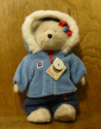 Dealer Exclusive NEW//Tag From Retail Store Boyds Plush #919818 Lexi Burrbruin