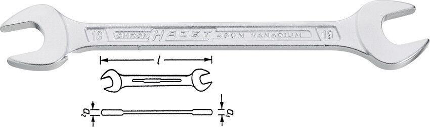 HAZET 450 N Doppel Maulschlüssel alle Größen Top Qualität Made in Germany