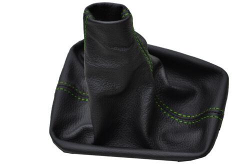 Green stitch fits VW CADDY MK3 2K Touran 1 gear gaiter 2003-2009