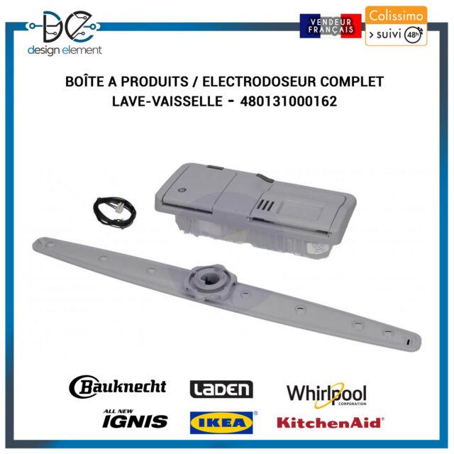 Boîte a produits / Electrodoseur complet Lave-vaisselle Whirlpool - 480131000162