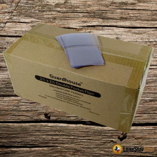 PVC FREE 1000-2.5x2.5 Double Pocket Vinyl Flips