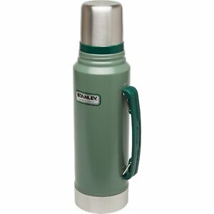 Stanley Coffee Thermos 1.1 Quart Vacuum Bottle Classic Stainless ...