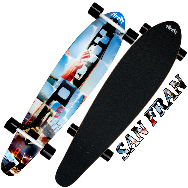 Komplett Longboard My Modell AREA Skateboard Modell My 2017 78f270