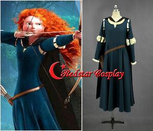 Princess-Brave-Merida-Cosplay-Halloween-Costume-princess-Merida-dress-in-anysize