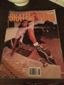 Transworld-Skateboarding-Magazine-August-1989-Bo-Ikeda-Steve-Alba-8-89-Aug