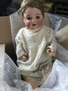 Antique-ARMAND-MARSEILLE-DOLL-996-11-doll-with-weighted-blue-eyes-original