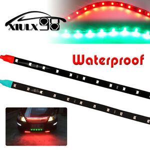 12-034-Boat-Bow-Navigation-LED-Lighting-Submersible-Marine-Strips-Red-Green-12V