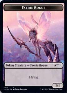 Faerie-Rogue-Token-014-x1-Magic-the-Gathering-1x-Secret-Lair-Drop-Series-mtg-c